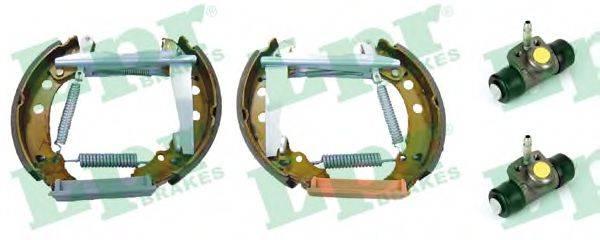 LPR OEK123 Тормозные колодки барабанные