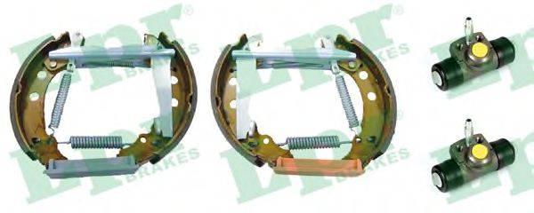 LPR OEK126 Тормозные колодки барабанные