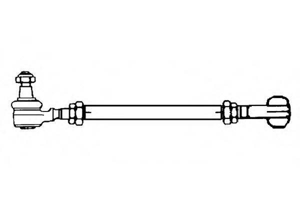 OCAP 0580870 Поперечная рулевая тяга
