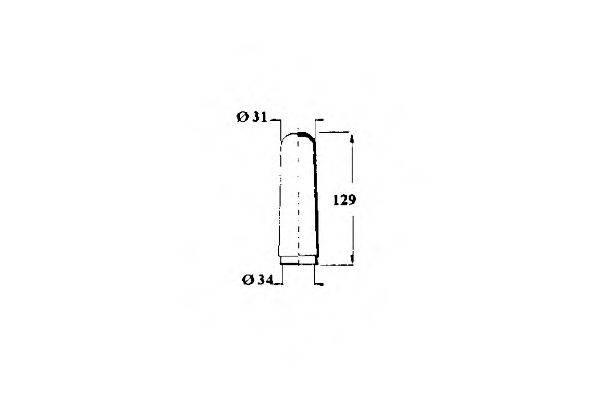 OCAP 1211225 Пыльник рулевой рейки
