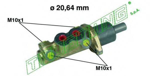 TRUSTING PF005 Главный тормозной цилиндр