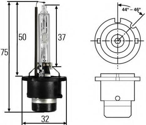 HELLA 8GS007949101 Лампа накаливания