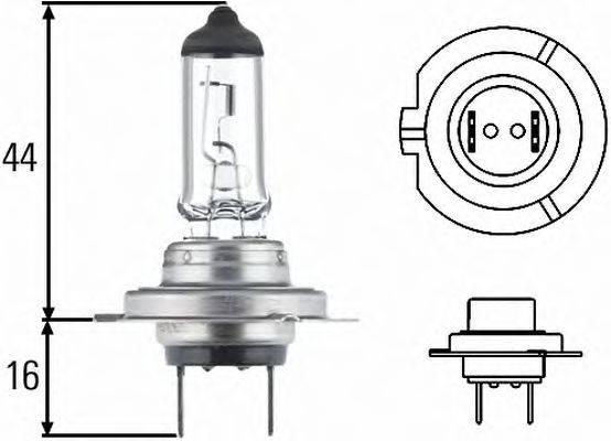 HELLA 8GH007157121 Лампа накаливания