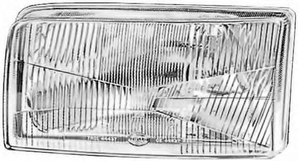 HELLA 1AJ136501021 Вставка фары, основная фара