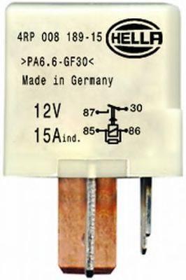HELLA 4RP008189151 Реле, топливный насос