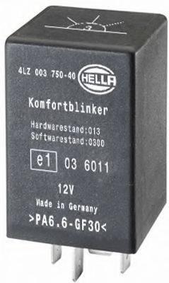 HELLA 4LZ003750401 Прерыватель указателей поворота; Прерыватель указателей поворота