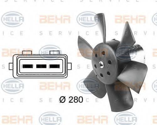 HELLA 8EW009144391 Вентилятор системы охлаждения двигателя