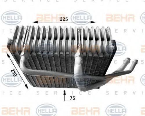 HELLA 8FV351210771 Испаритель кондиционера