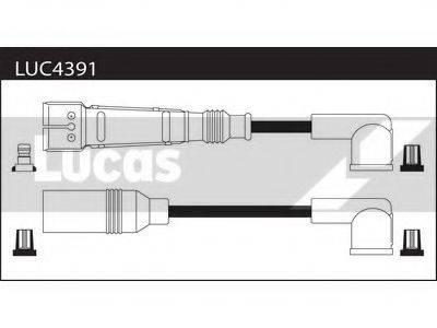 LUCAS ELECTRICAL LUC4391 Комплект проводов зажигания
