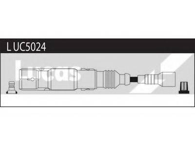 LUCAS ELECTRICAL LUC5024 Комплект проводов зажигания