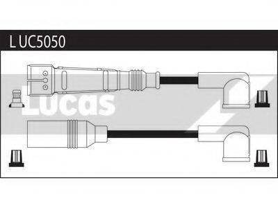 LUCAS ELECTRICAL LUC5050 Комплект проводов зажигания