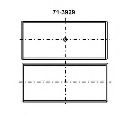 GLYCO 7139294STD Шатунный вкладыш