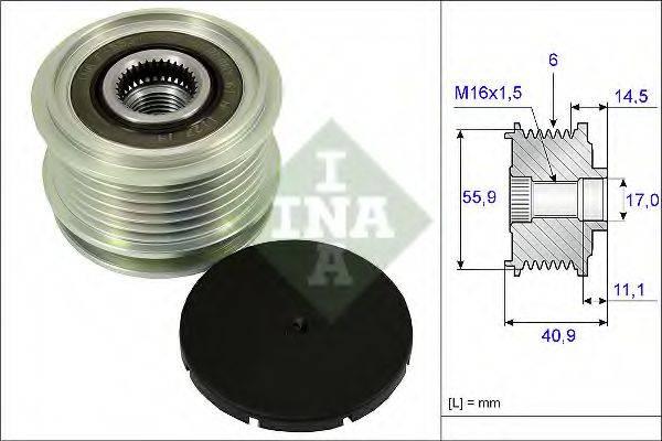 INA 535001210 Муфта генератора