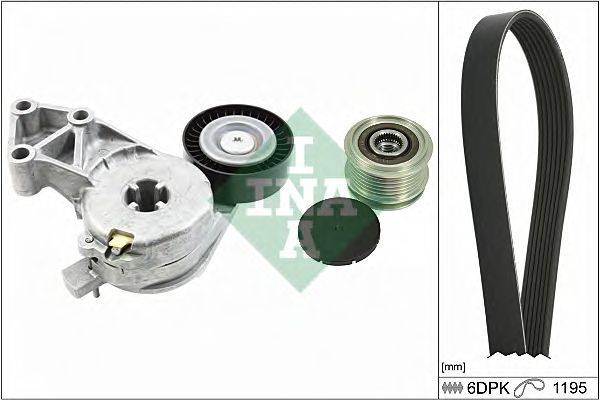 INA 529002210 Поликлиновой ременный комплект
