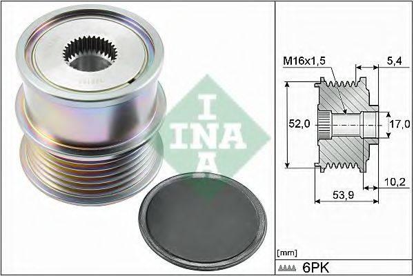 INA 535027910 Муфта генератора