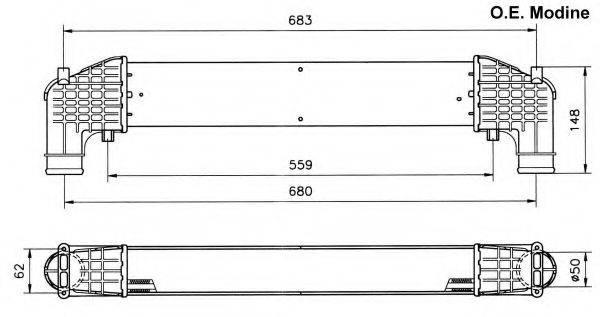 NRF 30108 Интеркулер