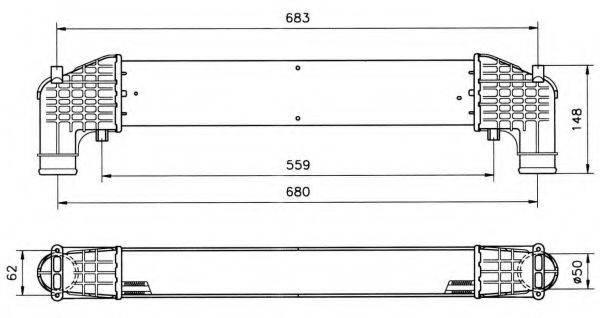 NRF 30108A Интеркулер