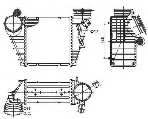 NRF 30838 Интеркулер