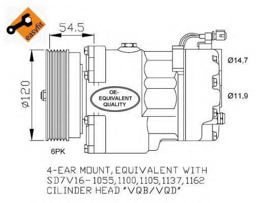 NRF 32033 Компрессор кондиционера