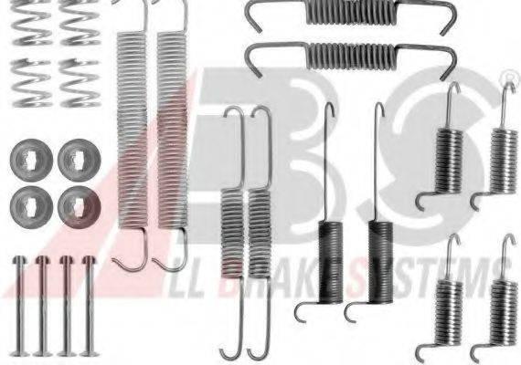 A.B.S. 0712Q Комплектующие, тормозная колодка