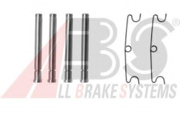 A.B.S. 1190Q Комплектующие, колодки дискового тормоза
