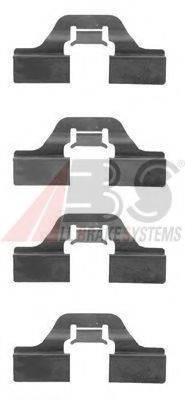 A.B.S. 1211Q Комплектующие, колодки дискового тормоза