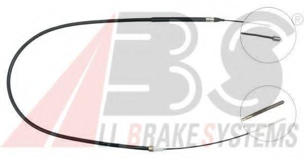A.B.S. K10021 Трос, стояночная тормозная система