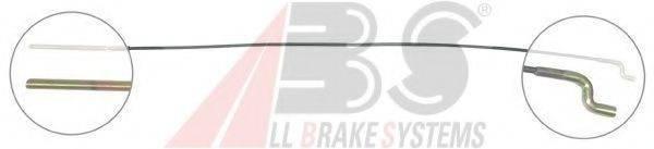 A.B.S. K10024 Трос, стояночная тормозная система