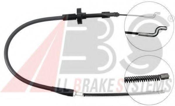 A.B.S. K11576 Трос, стояночная тормозная система