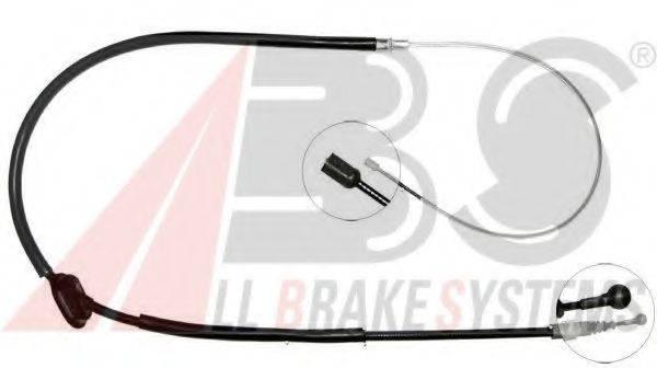 A.B.S. K18296 Трос, стояночная тормозная система