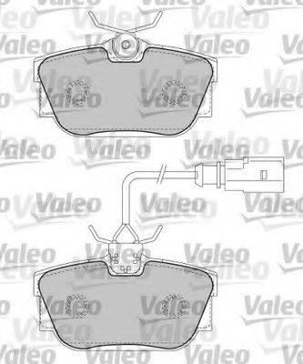 VALEO 597436 Тормозные колодки