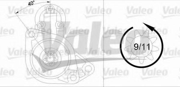 VALEO 436020 Стартер