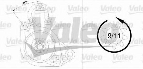 VALEO 455930 Стартер