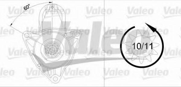 VALEO 458041 Стартер
