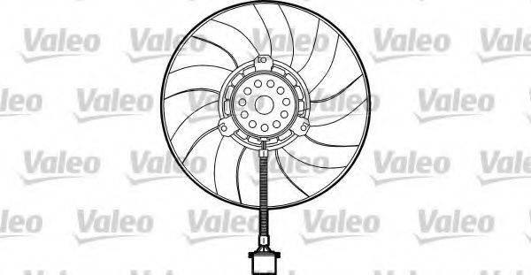VALEO 698373 Вентилятор системы охлаждения двигателя
