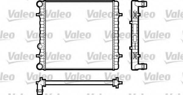 VALEO 731606 Радиатор охлаждения двигателя