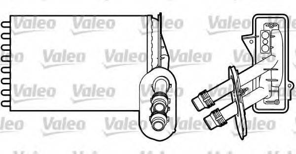 VALEO 812195 Радиатор печки