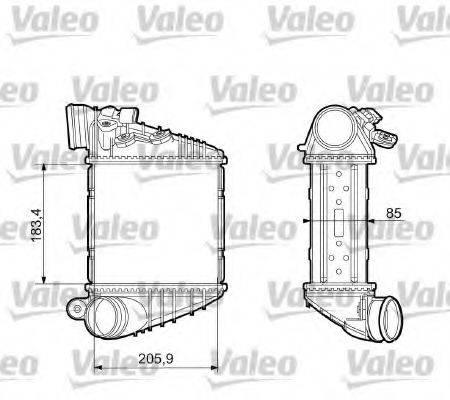 VALEO 817653 Интеркулер