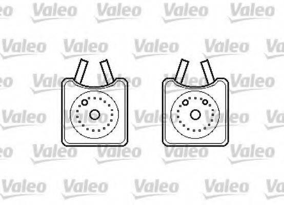 VALEO 817989 Масляный радиатор