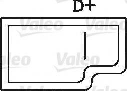 VALEO 440027 Генератор