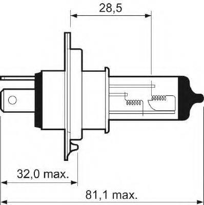 VALEO 032007 Лампа накаливания
