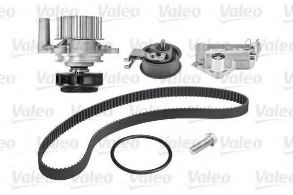 VALEO 614554 Водяной насос + комплект зубчатого ремня