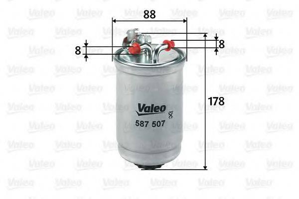 VALEO 587507 Топливный фильтр