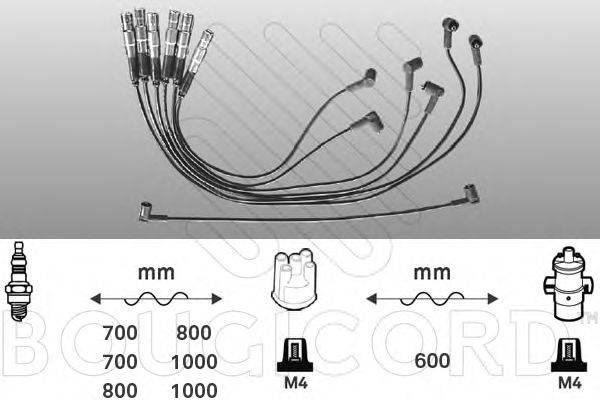 BOUGICORD 7153 Комплект проводов зажигания
