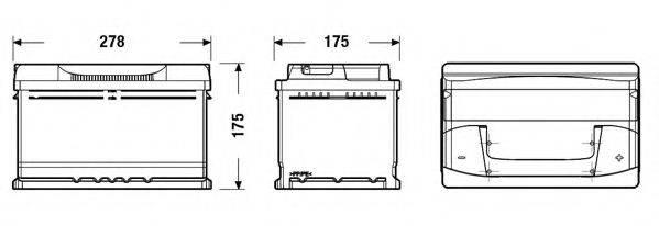 TUDOR TB712 Аккумулятор автомобильный (АКБ)