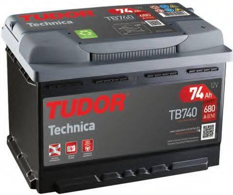TUDOR TB740 Аккумулятор автомобильный (АКБ)