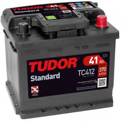 TUDOR TC412 Аккумулятор автомобильный (АКБ)