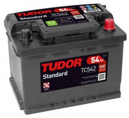 TUDOR TC542 Аккумулятор автомобильный (АКБ)