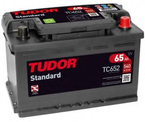 TUDOR TC652 Аккумулятор автомобильный (АКБ)