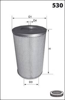 MECAFILTER FA3698 Воздушный фильтр